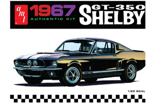1967 Ford Shelby GT350 (Black) 1/25