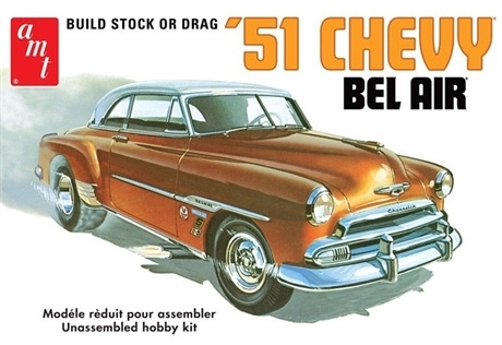 1951 Chevy Bel Air - Stock Or Drag 1/25