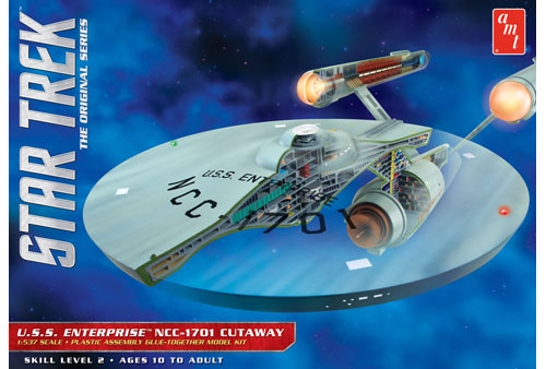 Star Trek U.S.S. Enterprise Cutaway 1/537