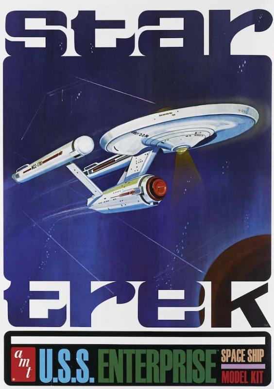 Classic Star Trek USS Enterprise (50th Anniversary Edition) 1/650