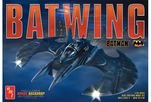 1989 Batman Batwing 1/25