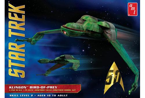 Star Trek Klingon Bird-of-Prey 1/350