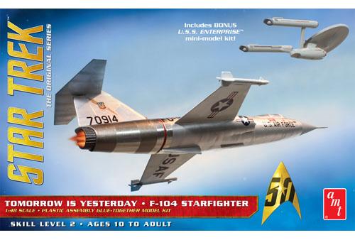 Star Trek F-104 Starfighter 1/48
