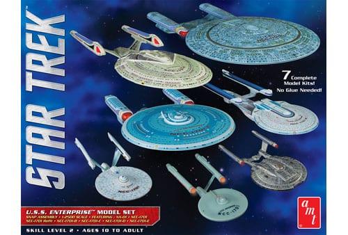 Star Trek U.S.S. Enterprise Box Set – Snap 1/2500