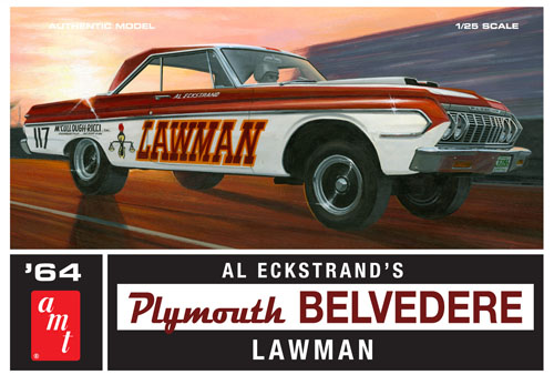 1964 Plymouth Belvedere Lawman Super Stock 1/25