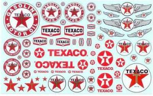 Texaco Trucking Decals 1/25