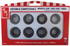 RED LINE TIRES PARTS PACK 1/25