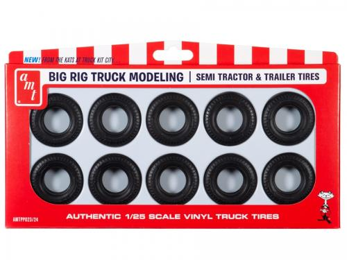BIG RIG TRUCK TIRE PARTS PACK 1/25