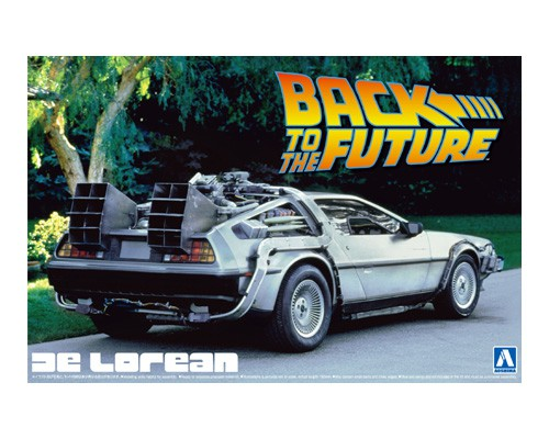 Delorean Dmc Back To The Future 1 1/24