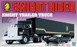 Knight Rider Trailer Truck 1/28