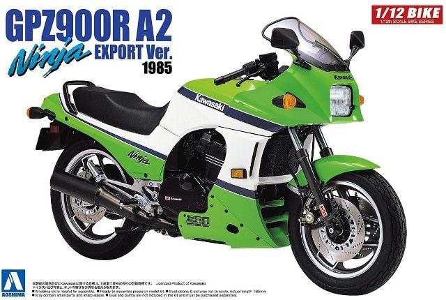 Kawasaki GPZ900R A2 Ninja Export Ver. 1985 1/12