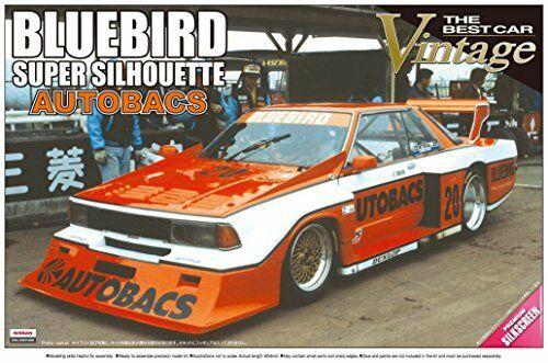 Nissan Bluebird Autobacs Turbo Silhouette 1/24