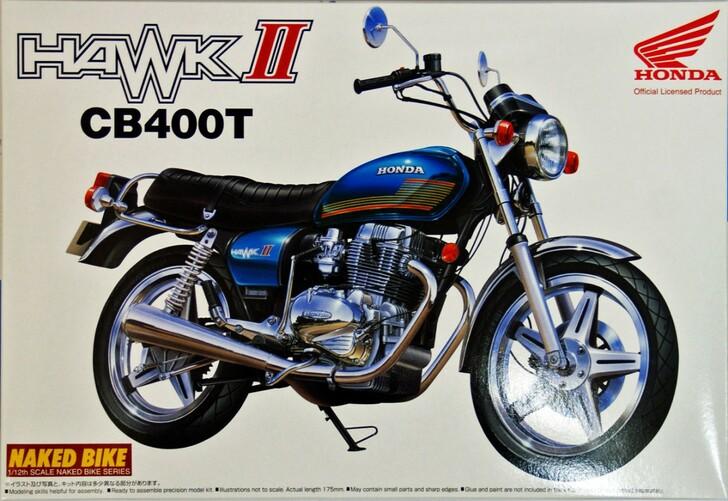 Honda Hawk II CB400T 1/12