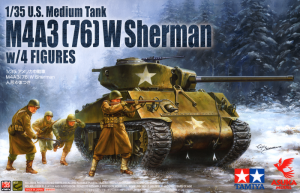 U.S M4A3 (76) W Sherman with Figures Special Edition 1/35