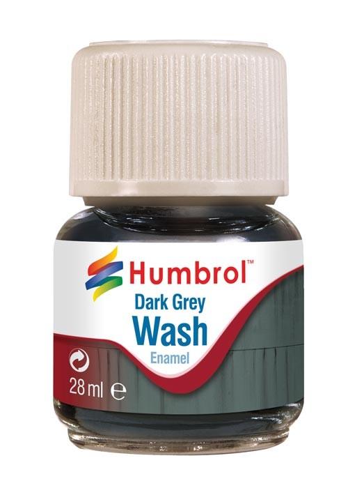 Enamel Wash Dark Grey (28ml)