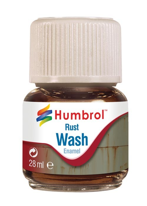 Enamel Wash Rust (28ml)