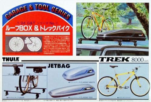 Roof Box and Trek Bike Accessory 1/24