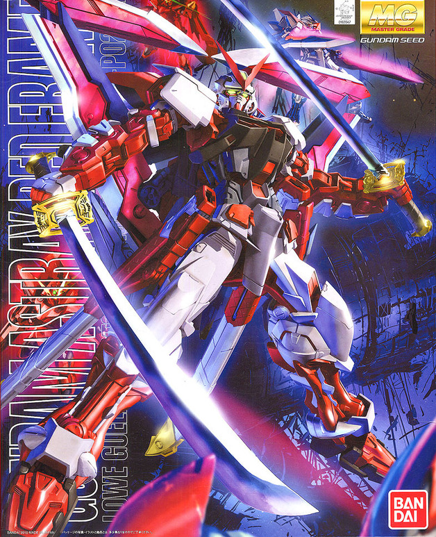 MG Gundam Astray Red Frame Lowe Guele's Customize Mobile Suit