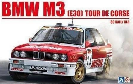 1988 BMW M3 E30 TOUR DE CORSE RALLY 4TH CHATRIOT AND PERIN 1/24