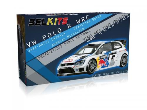 Volkswagen Polo WRC+B473 Ogier/Latvala/Mikkelsen 1/24