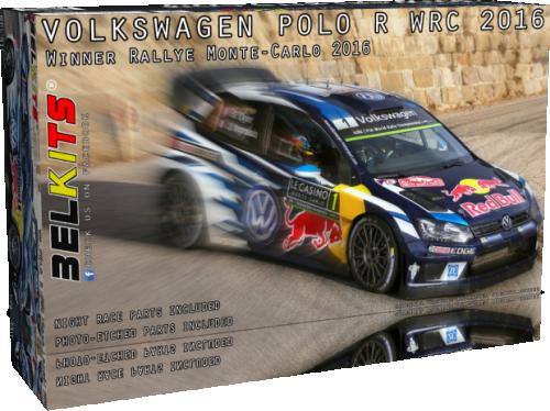 Volkswagen Polo R Wrc 2016 Ogier/Latvala/Mikkelsen 1/24