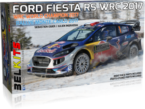 FORD FIESTA RS WRC 2017 WRC WORLD CHAMPION 2017 1/24