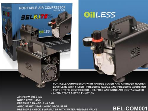Portable Kompressor for Airbrush