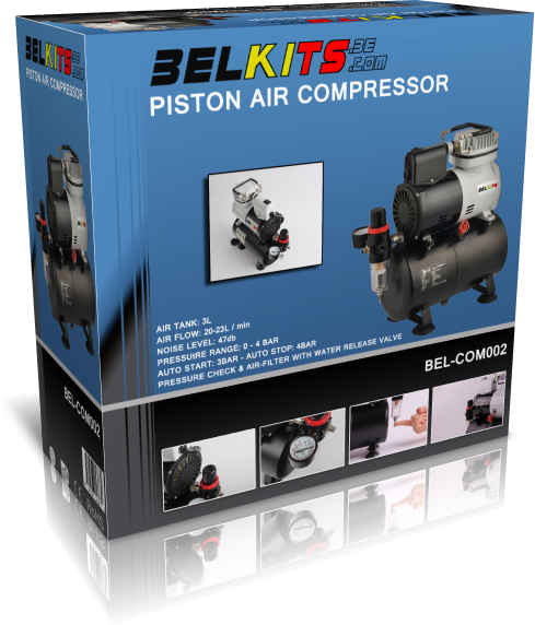 Piston Air Kompressor for Airbrush