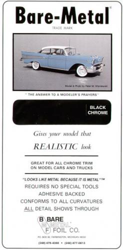 BARE METAL FOIL - BLACK CHROME