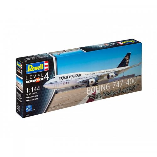 Boeing 747-400 'IRON MAIDEN' 1/144