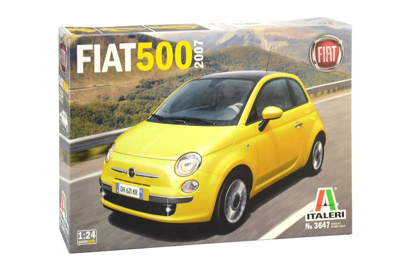 FIAT 500 (2007) 1/24
