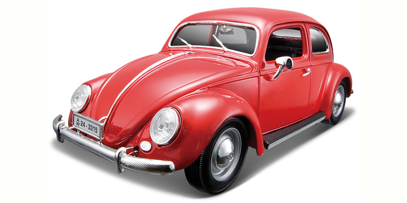 1955 Volkswagen Bubbla, red 1/18