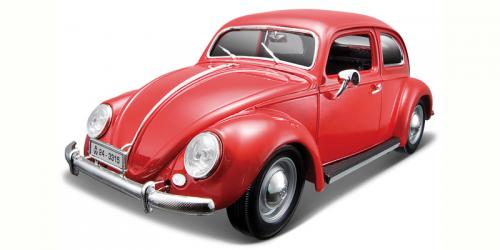 1955 Volkswagen Bubbla, red 1/18