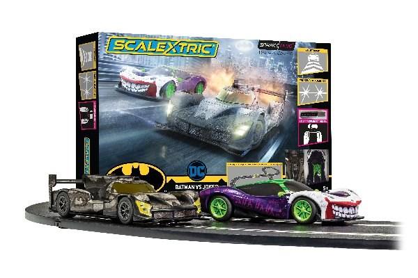 Scalextric Spark Plug - Batman vs Joker Race Set