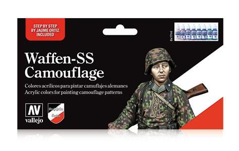 Waffen-SS Camouflage (x8)