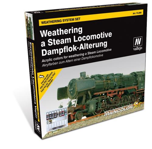 Weathering a Steam Locomotive