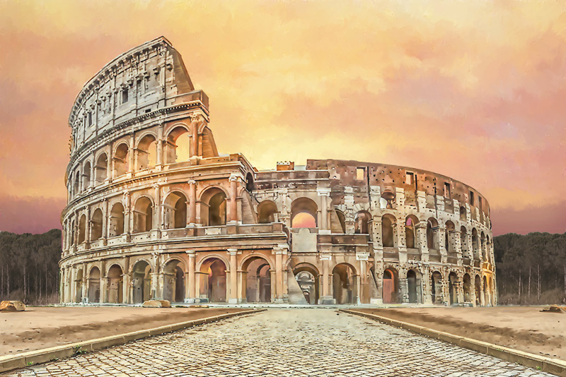 THE COLOSSEUM : WORLD ARCHITECTURE