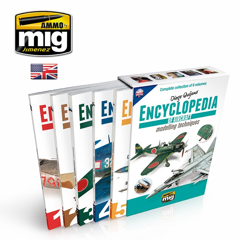COMPLETE ENCYCLOPEDIA OF AIRCRAFT MODELLING TECHNIQUES (English)