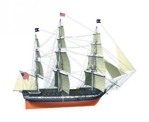 USS Constitution 1/100