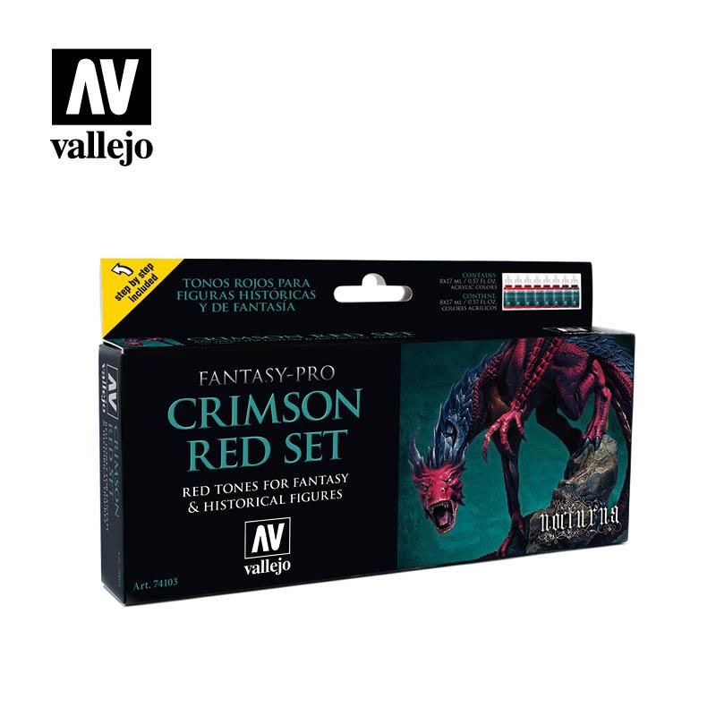Crimson Red (x8)