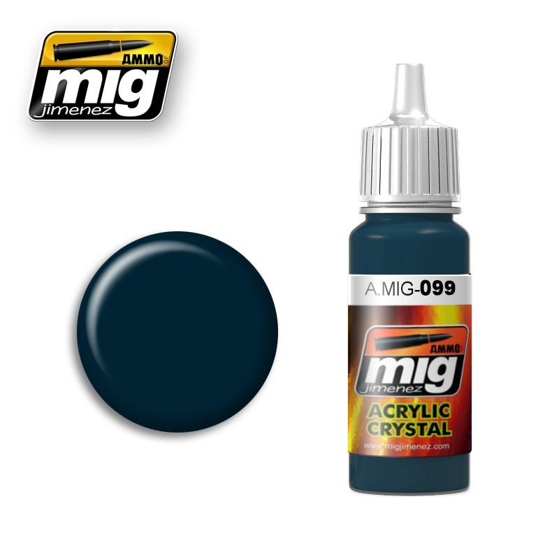 Ammo of Mig - CRYSTAL BLACK BLUE