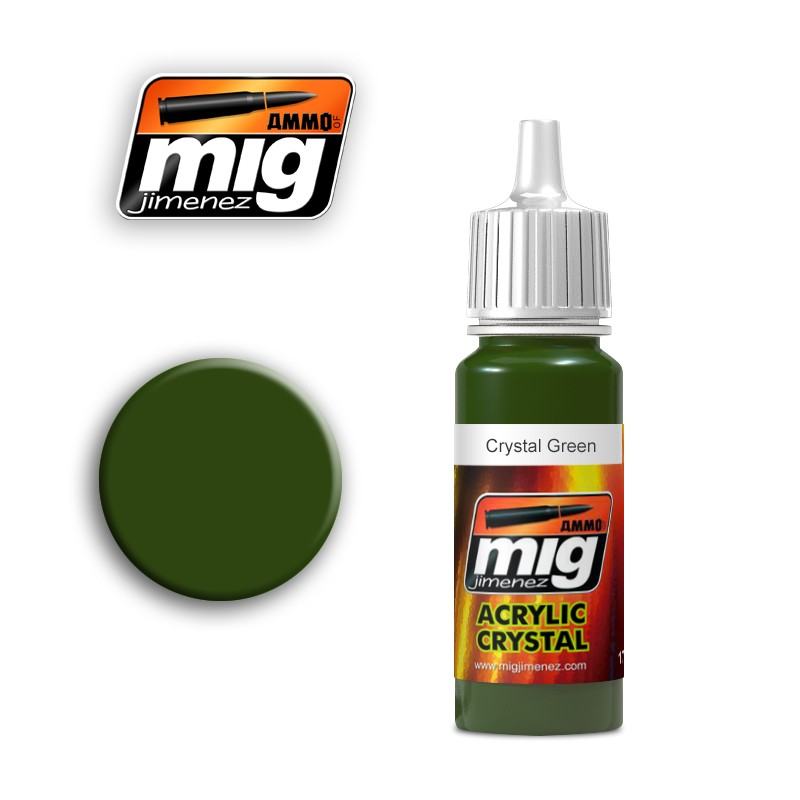 Ammo of Mig - CRYSTAL GREEN