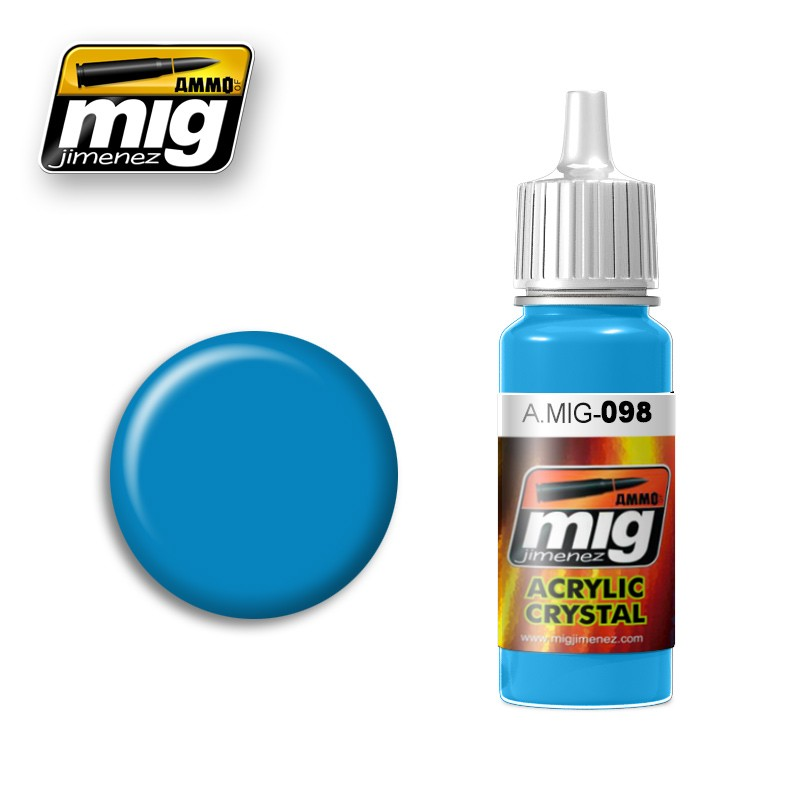 Ammo of Mig - CRYSTAL LIGHT BLUE