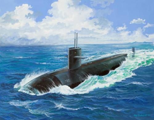 USS DALLAS (SSN-700) 1/400