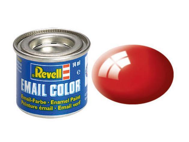 Fiery red, gloss RAL 3000