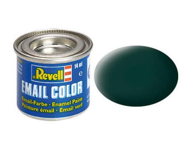 Black-green, mat
