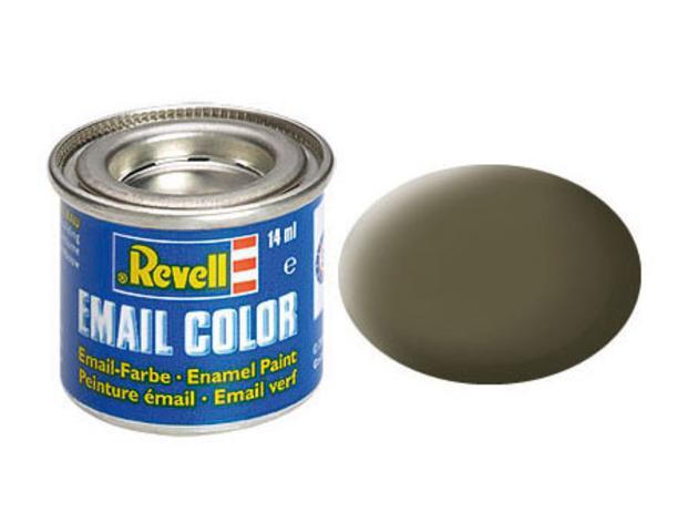 Nato-olive, mat RAL 7013