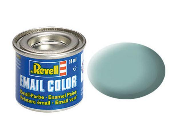 Light blue, mat
