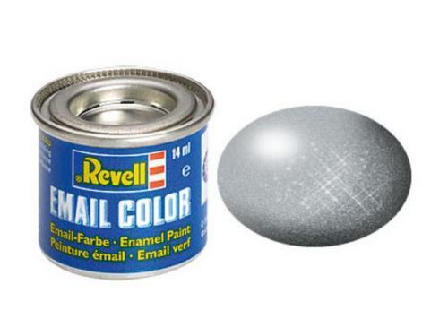 Silver, metallic