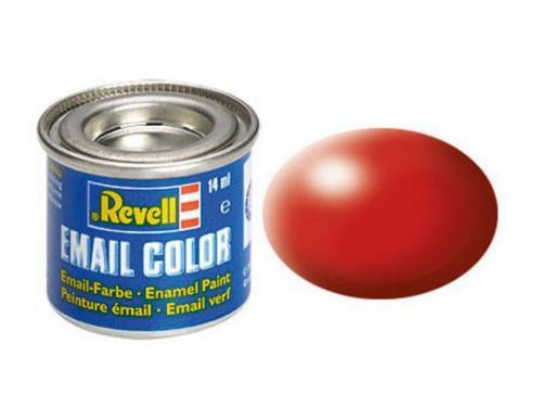 Fiery red, silk RAL 3000